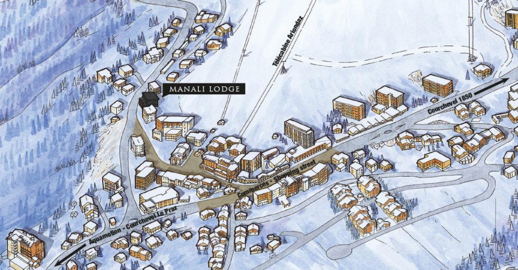 Appartement T3/T8 à vendre Courchevel - Résidence Manali Lodge