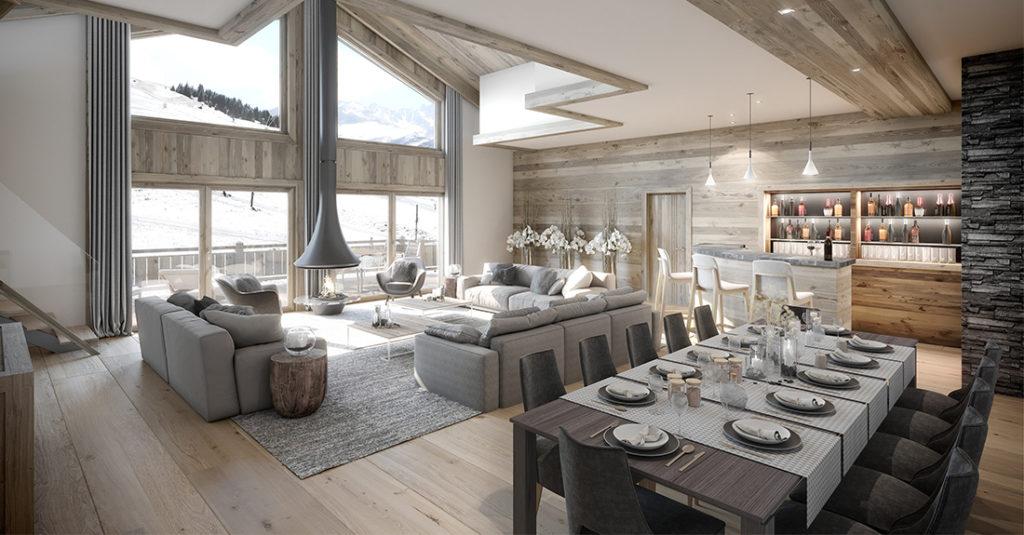 Résidence Manali Lodge Courchevel Moriond - Appartement à vendre