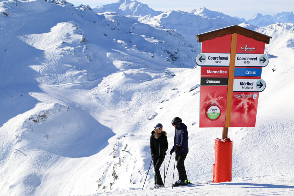 Spring Skiing in Courchevel