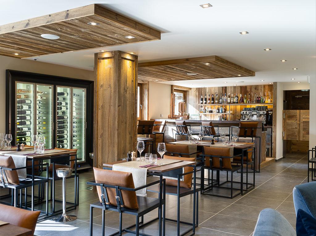 Vina Annapurna Restaurant & bar à vins ouvert toute l'année Les Gets