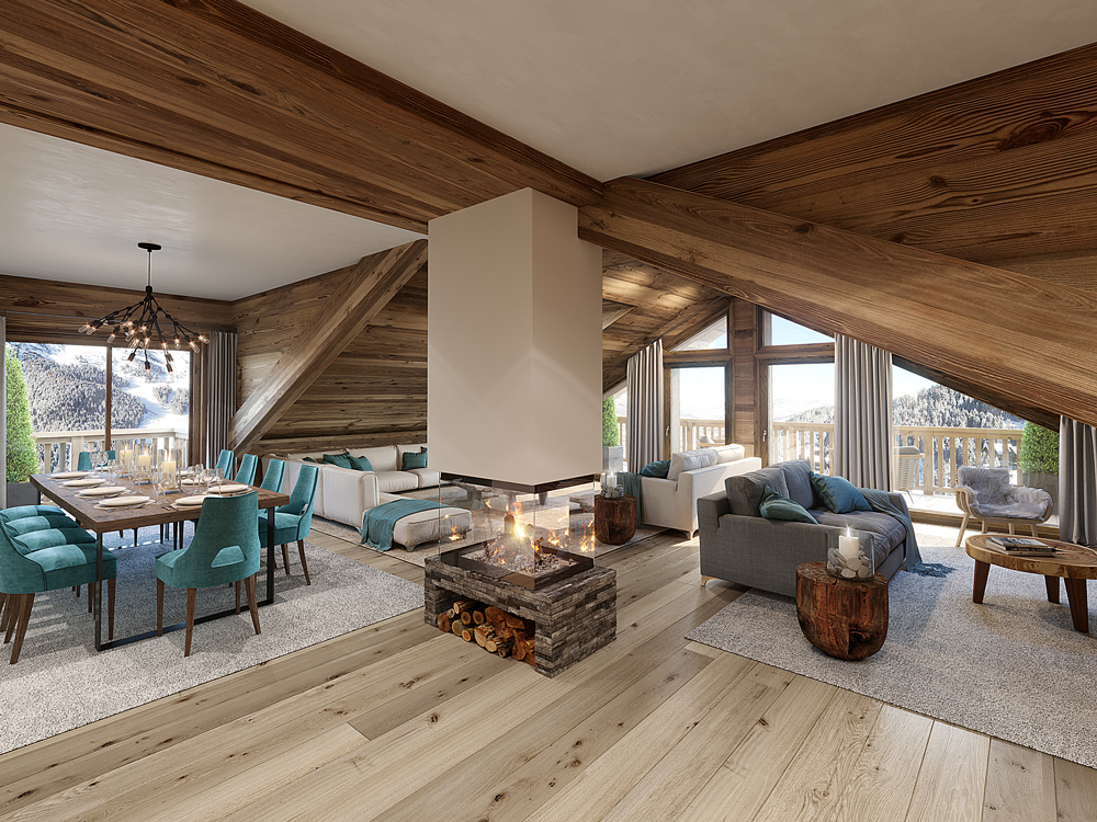 Apartments in Meribel Swan Lodge