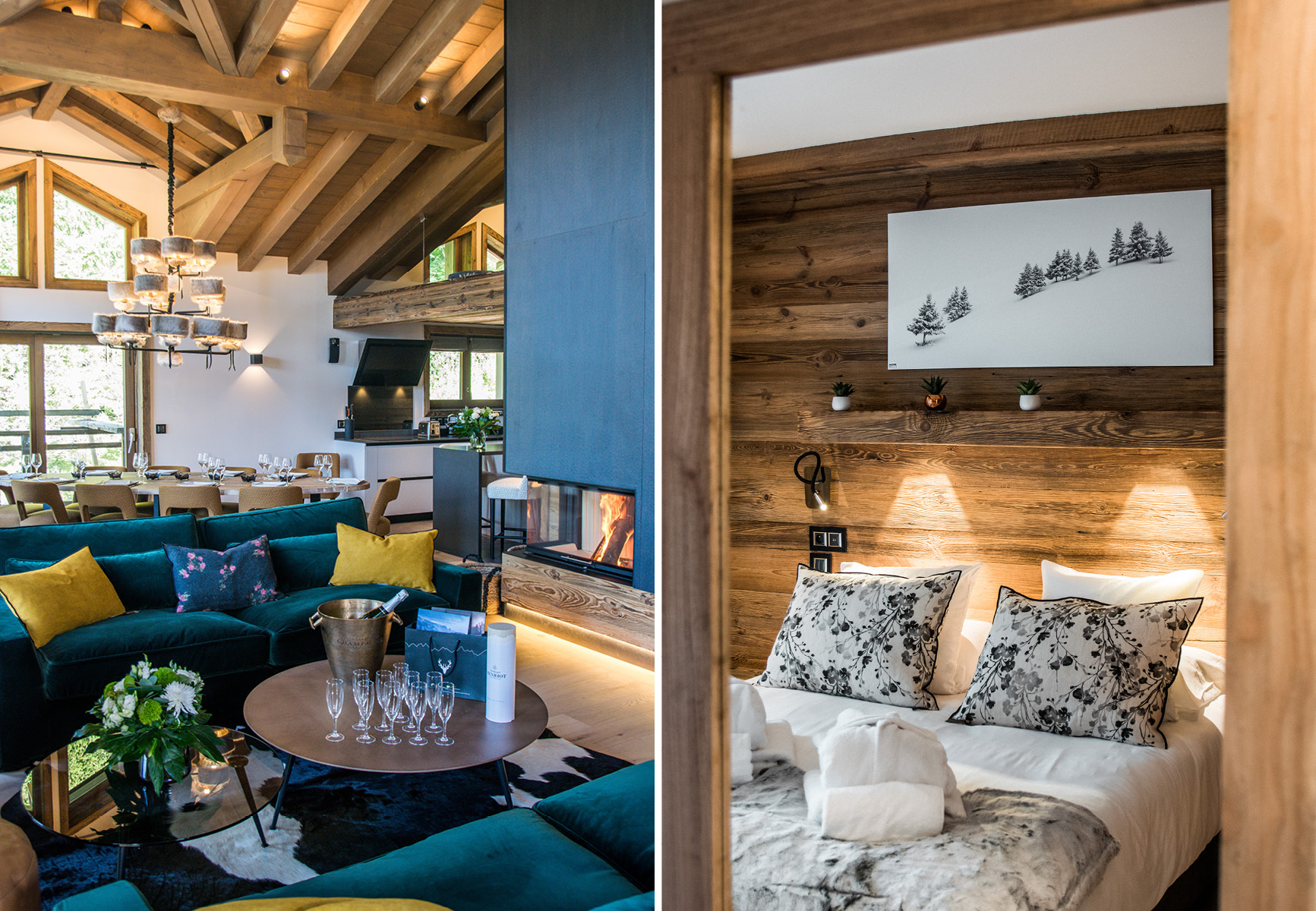 Chalets and apartments in courchevel Canyon Lodge