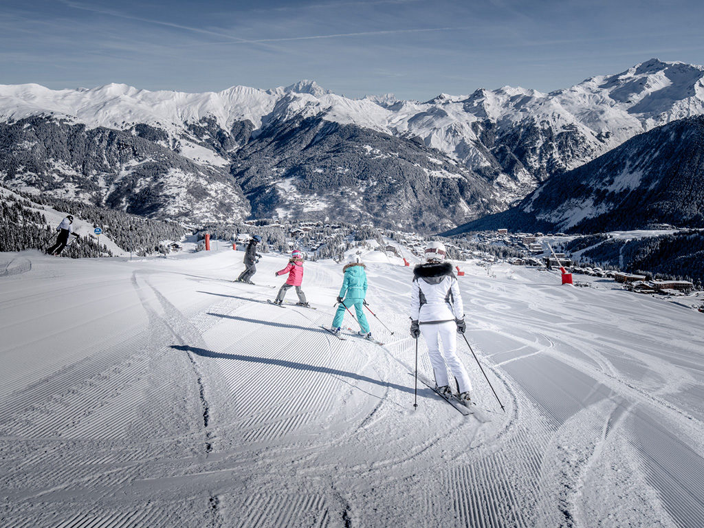 Where to ski courchevel