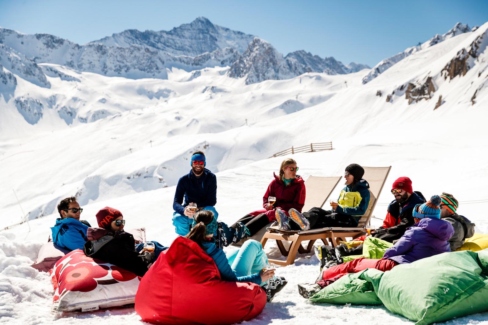 where to ski tignes