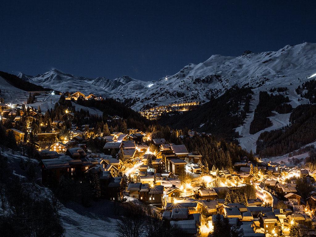 Where to ski meribel