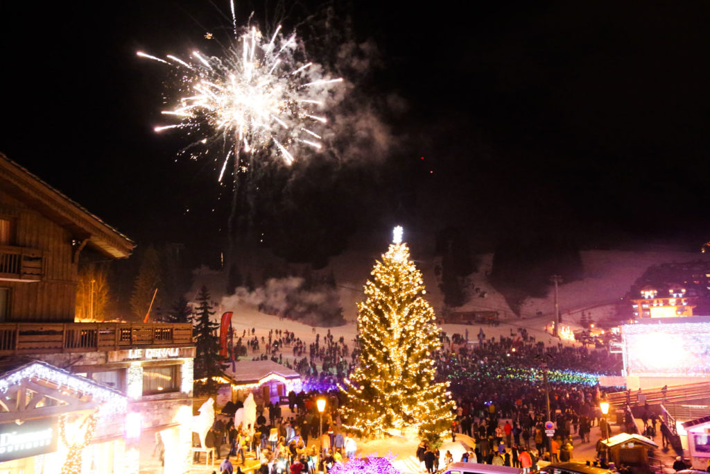 New Year's Eve in Courchevel